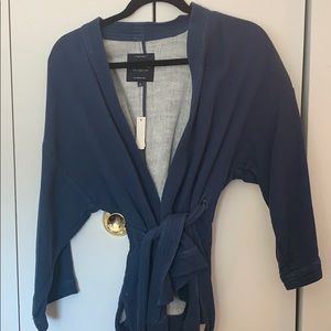 BRAND NEW! MADEWELL BLUE WRAP